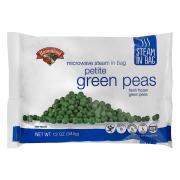 Hannaford Steam-in-Bag Petite Green Peas