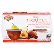 Hannaford Cherry Mixed Fruit in 100% Fruit Juice Bowls
