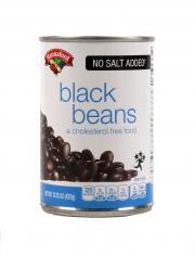 Hannaford No Salt Added Black Beans