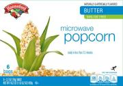 Hannaford Microwave Popcorn Butter 94% Fat Free
