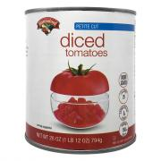 Hannaford Diced Tomatoes Petite Cut