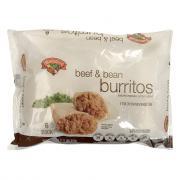 Hannaford Beef & Bean Burritos