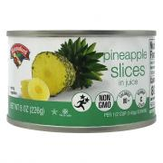 Hannaford Pineapple Slices in Juice