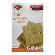 Hannaford Thin Wheats Crackers
