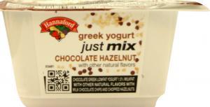 Hannaford Just Mix Chocolate Hazelnut Yogurt