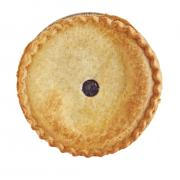 "Hannaford 8"" Blueberry Pie"