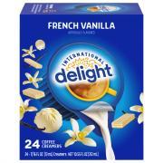 International Delight French Vanilla Non-Dairy Creamers