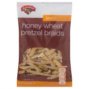 Hannaford Honey Wheat Pretzel Braids