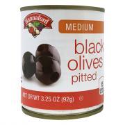 Hannaford Medium Buffet Black Olives