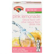 Hannaford Pink Lemonade Drink Mix