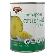 Hannaford Crushed Pineapple in Juice