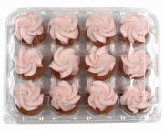 Mini Strawberry Cupcakes