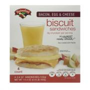 Hannaford Bacon, Egg & Cheese Biscuit Sandwiches