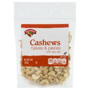 Hannaford Cashew Halves and Pieces