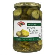Hannaford Bread & Butter Pickle Chips