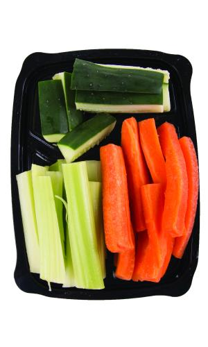 Snack Pack Cucumbers, Celery & Carrots