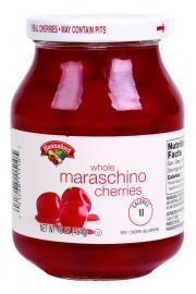 Hannaford Whole Maraschino Cherries
