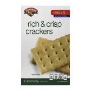 Hannaford Rich & Crisp Crackers