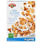 Hannaford Oats & More With Almonds Cereal