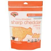 Hannaford 2% Sharp Cheddar Cheese Fancy Shredded