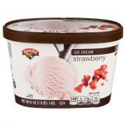 Hannaford Strawberry Ice Cream