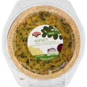 Hannaford Spinach Quiche