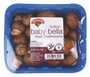 Hannaford Button Baby Bella Mushrooms