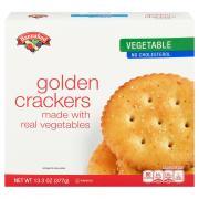 Hannaford Veggie Snack Cracker Rounds