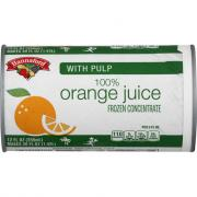 Hannaford Frozen Orange Juice with Pulp