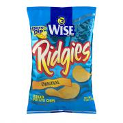Wise All Natural Ridgies Potato Chips