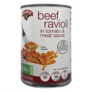 Hannaford Beef Ravioli