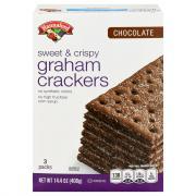 Hannaford Chocolate Graham Crackers