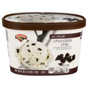 Hannaford Chocolate Chip Ice Cream