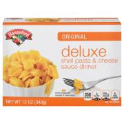 Hannaford Deluxe Shells & Cheddar Cheese Sauce