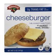 Hannaford Cheeseburger