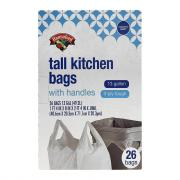 Hannaford Tall Kitchen Tie-Sac Bags
