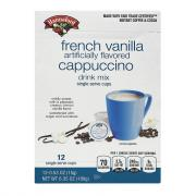Hannaford Cappuccino French Vanilla Single Serve
