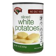 Hannaford No Salt Added Sliced White Potatoes