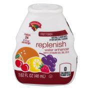 Hannaford Fruit Punch Replenishing Water Enhancer