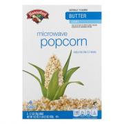 Hannaford Microwave Popcorn Light Butter