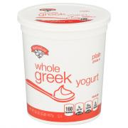 Hannaford Plain Whole Milk Greek Yogurt