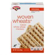 Hannaford Woven Wheats Crackers