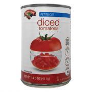 Hannaford Petite Diced Tomatoes