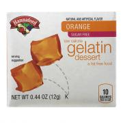 Hannaford Sugar Free Orange Gelatin