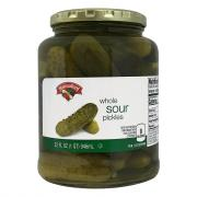 Hannaford Whole Sour Pickles