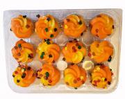 Mini Harvest Gold Cupcakes