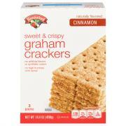 Hannaford Cinnamon Graham Crackers