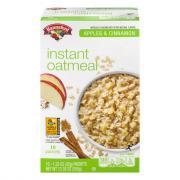 Hannaford Apple & Cinnamon Instant Oatmeal
