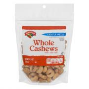 Hannaford Lightly Salted Whole Cashews