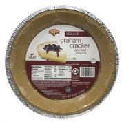 """Hannaford 9"""" Graham Cracker Pie Crust"""